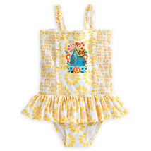 """Disney Store Anna and Elsa - Frozen """"Ice flow"""" Swimsuit for Girls - $22.50"""
