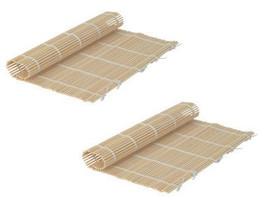 Handmade Bamboo Sushi Mat / Makisu (Pack of 2) [Misc.] - $5.76
