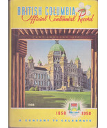 ))British Columbia History Official Centennial Record 1858-1958 One Hund... - $15.00