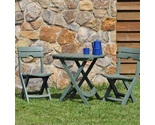 Oor bistro set patio garden yard dining furniture 3 piece stools chairs table cafe thumb155 crop