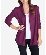 Eddie Bauer Women's Flightplan Cardigan Sweater, Purple heather, size XL... - $79.50