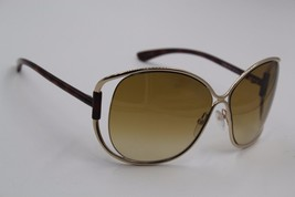 NEW TOM FORD TF 182 28J HELENE GOLD SUNGLASSES AUTHENTIC 56-13 W/CASE ! - $130.43