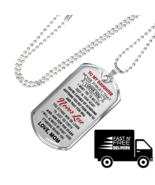 Love Mom To Daughter Luxury Gift Dog Tags From Mother Mommy, Birthday Pr... - $29.65+