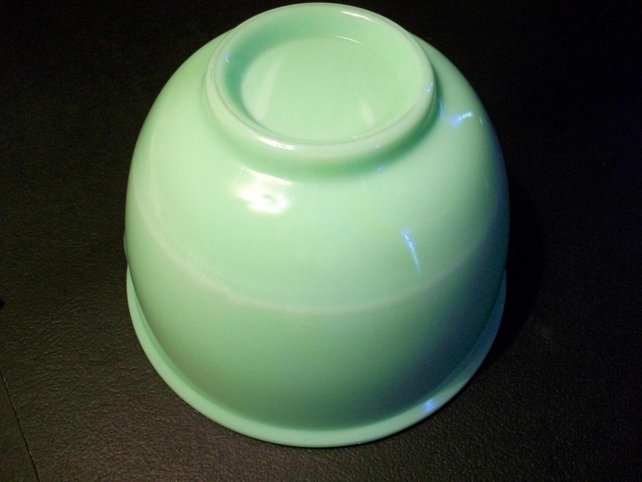 Vintage Jadite Batter Bowl with Spout