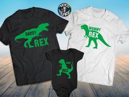 Mommy Daddy and me shirts, Babysaurus Shirt, Daddysaurus shirt, Family m... - $19.68 CAD