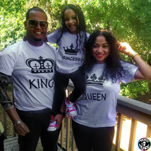 King Queen Prince Princess family set, King Queen, Prince and Princess s... - $19.68 CAD
