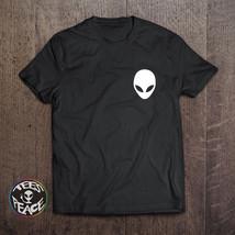 Alien shirt, Alien tshirt, Alien T-shirt, Alien Pocket shirt, Cotton Tee... - $19.68 CAD