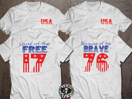 4th of July Shirt, Home of the Free tshirt, Home of the Free Because of ... - $19.68 CAD