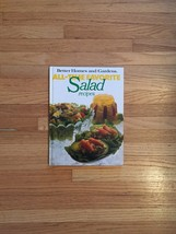 Vintage 1978 Better Homes and Gardens Favorite Salad recipes Cookbook- hardcover