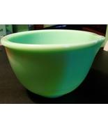 Vintage Jadite Batter Bowl with Spout - $33.00
