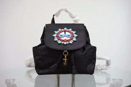 Tory Burch Flower Child Applique Backpack image 2