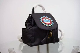 Tory Burch Flower Child Applique Backpack image 3