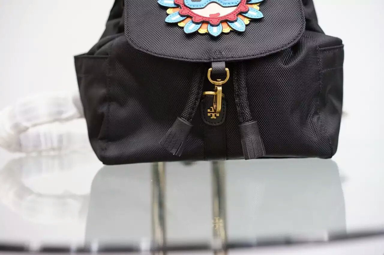 Tory Burch Flower Child Applique Backpack image 6