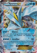 Kyurem-EX 25/98 Ultra Rare XY Ancient Origins Pokemon Card - $5.99