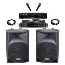 Powerful Karaoke System Wireless Microphones Digital Karaoke Recording C... - $1,152.84