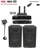 Complete Professional Karaoke System RSQ Neo 22 Player Digital Machine e... - $1,107.09