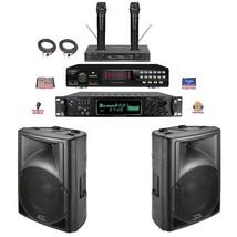 RSQ Player USB CDG PLAYER Professional Karaoke System Wireless Digital R... - $988.14