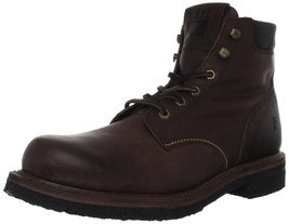 FRYE Men's Dakota Crepe Plain Toe Boot Dark Brown 9 M US - $128.69