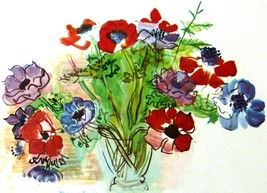 Vase of Flowers 1937 - Raoul Dufy - Framed Pict... - $35.50