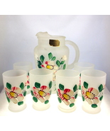 Vintage Hansetta Artware frosted juice pitcher ... - $38.00