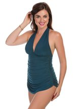 Magicsuit Women's Yvonee DD Cup One-Piece Mallard Swimsuit 8 - $66.32