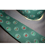 Green Holiday Vintage Fabric Ribbon 3 yards, Christmas presents and wreaths - $7.50