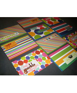 Ten Handmade Colorful Geometric gift tags mini cards,  - $5.00