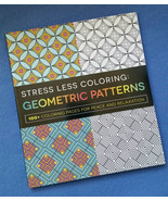 Stress Less Coloring: Geometric Patterns - 100+ coloring pages - $14.99