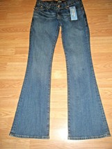 NWT ROCK & REPUBLIC STRETCH DENIM  FLARE JEANS SZ 29 - $38.69