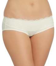 SPANX Undie-tectable Lace Waist Hipster, L, Powder Ivory - $12.86