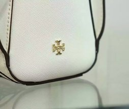 Tory Burch Robinson Embroidered Small Zip Tote image 4