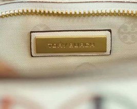 Tory Burch Robinson Embroidered Small Zip Tote image 9