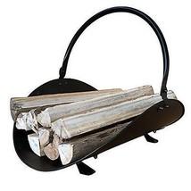 Fireplace Firewood Wood Basket Holder Winter Warmer Carrier Compact Tool... - $47.66