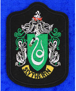 Slytherin Patch Large Harry Potter - $3.49