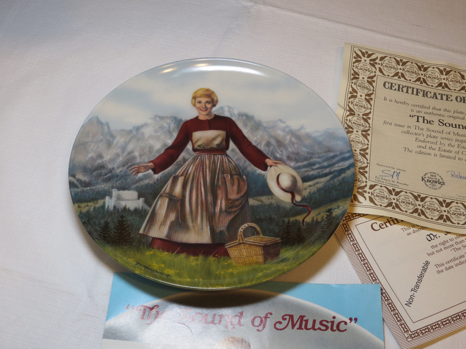 Primary image for The Sound Of Music T. Crnkovich 5666C 84-K41-18.1 collector plate 1st 1986 #%
