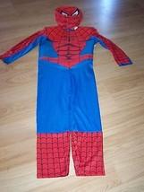 Size 4-6 Marvel Spider-Man Spiderman Halloween Costume w Mask Blinking L... - $34.00