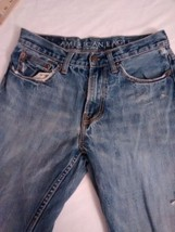 American Eagle Men's Distressed Boot Cut Jeans Size 29x30 Actual Size - $11.29