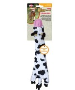 Skinneeez Crinklers Cow for Dog Toy 14 inch Crinkle paper inside Crunch ... - $10.99