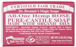 Dr Bronners Magic Soap All One Obro05 5 Oz Rose... - $10.88