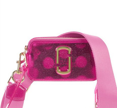 Marc Jacobs Jelly Snapshot Small Camera Bag Crossbody Bag Glitter Multi - $219.00