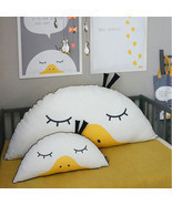 58cm Cute Semicircle Duck Throw Pillow Cotton Cloth Sofa Car Bed Cushion... - $31.92
