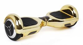 Chrome Gold Hoverboard Bluetooth Two Wheel Balance Scooter - $249.00