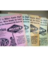 Advertisement/Flyer Miller's Super Markets / Ice Follies - $8.09