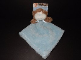 Blankets and Beyond Monkey Blue Plush Security ... - $37.39