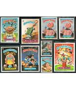 Garbage Pail Sticker Cards 1986 Original Lot #2 - $5.00