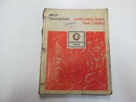 1976 Detroit Diesel Allison Transmissions 4440-4460 Series Parts Catalog... - $49.49