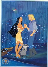 Disney Pocahontas Gold Seal Lithograph - $24.18