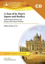 A Tour of St. Peter's Square and Basilica (Audio CD Set + 1 Lecture Guide)