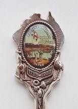 Collector Souvenir Spoon Australia Bicentenary 1788 1988 Colonisation Sydney - $9.99
