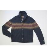 Tommy Hilfiger Shawl Collar Cardigan, Multi-Color, Sz. Large - $98.51